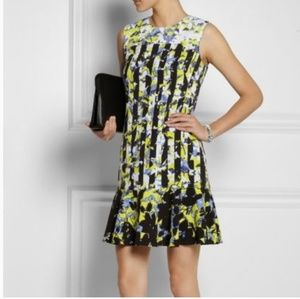 Peter Pilotto sleeveless ruffle shift dress - M